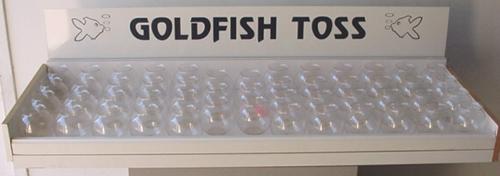 Goldfish Toss (Ping Pong Toss)