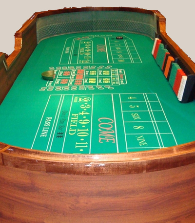 Craps Table - 14 Foot Table