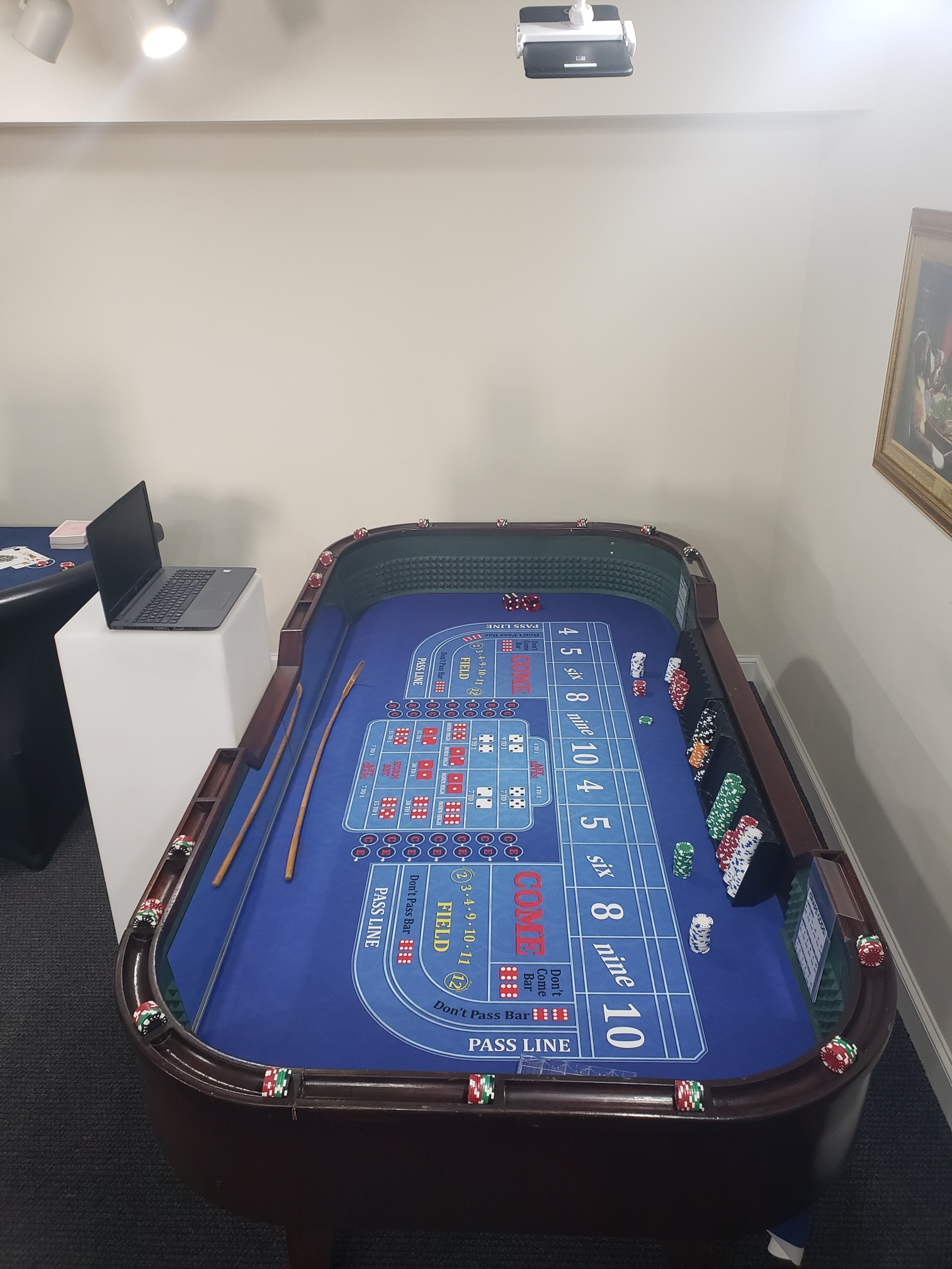 Virtual Craps Table