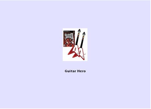 Guitar Hero 2, 3 and 4