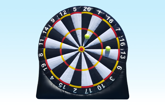 Giant Inflatable Soccer Darts
