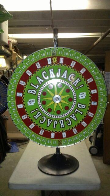 Casino Blackjack Money Wheel Theme