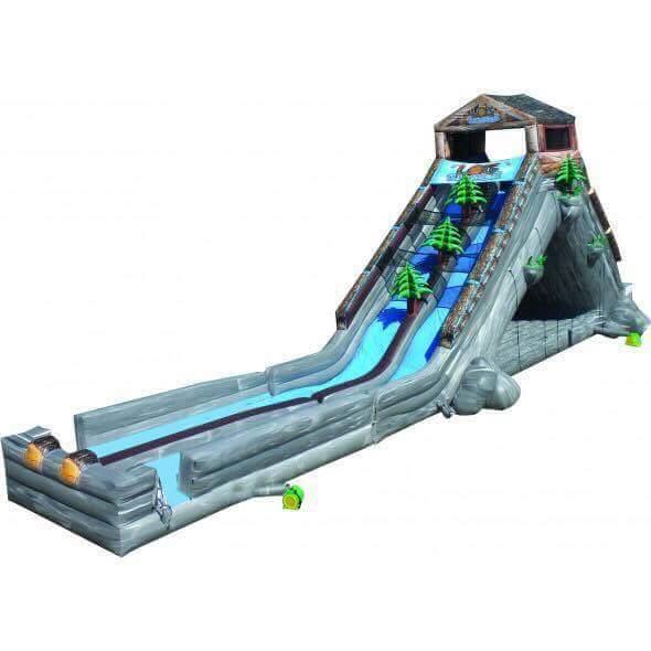 Water Slide - Log Jammer Slide and Moonbounce Combo