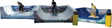 Mechanical Snowboard, Skateboard and Surfboard Rentals